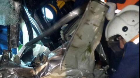 В аварии под Вольском пострадали три человека