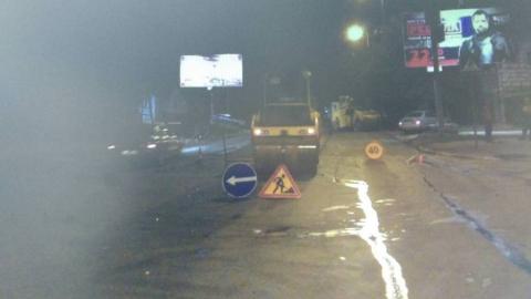 На Соколовой водитель фургона насмерть сбил дорожного рабочего
