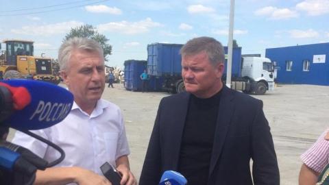Глава Саратова посетил мусороперегрузочную станцию в Гуселке