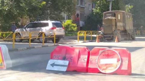 Перекрыта улица Большая Казачья