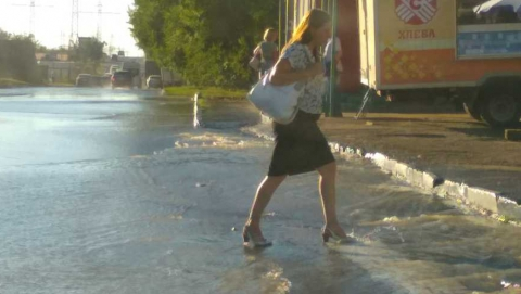 На Тархова забил фонтан