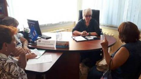 Александра Сызранцева провела личный прием граждан