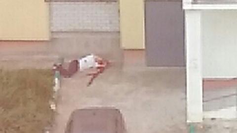 В Лесной республике пьяный сорвался при попытке забраться в свою квартиру