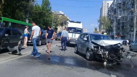 Тяжесть последствий аварий в Саратове ниже общероссийского показателя