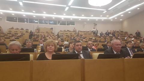 Николай Панков: Володин просит выступающих озвучивать конкретные предложения