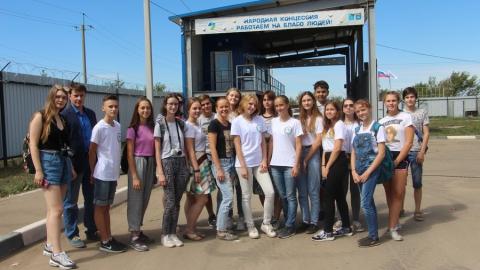 Всероссийское движение школьников познакомилось с работой Балаковского мусороперерабатывающего комплекса