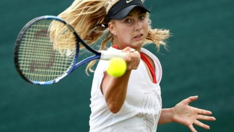 Саратовская теннисистка в США победила итальянскую