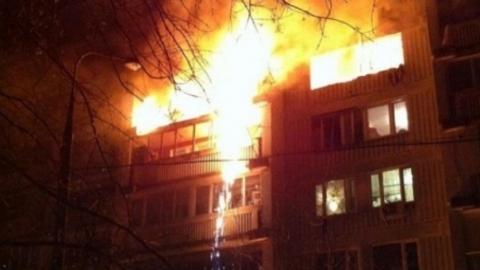 Ночной пожар в Саратове унес жизни троих человек