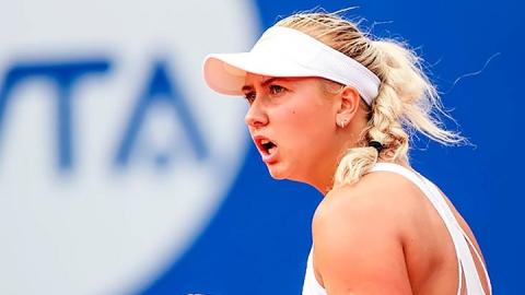Саратовская теннисистка в США победила сербскую