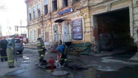 В пожаре на Рахова сгорели три бомжа