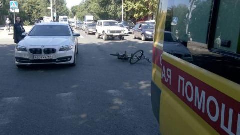 """На Горького """"БМВ"""" сбила на """"зебре"""" велосипедиста"""