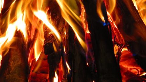 Пожар в Заводском. Горели постройки на проезде Лазо