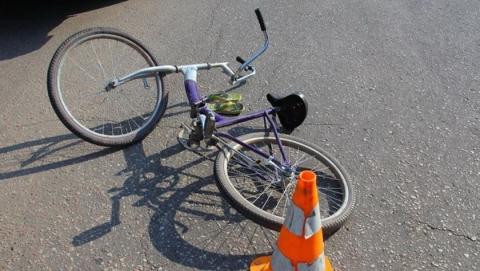 Девушка за рулем «Опель Астра» сбила мальчика на велосипеде