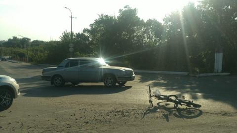 """""""Волга"""" отправила в больницу ребенка на велосипеде"""
