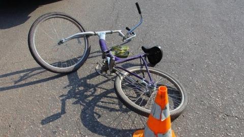 Водитель «Дэу Нексия» сбил мальчика на велосипеде