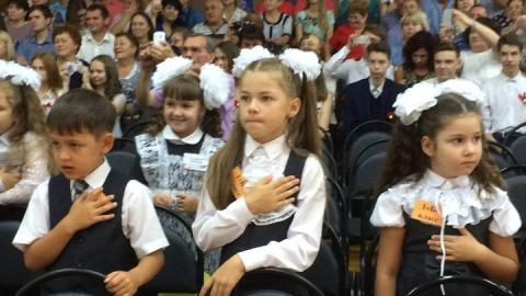 Николай Панков поздравил с Днём знаний учеников и педагогов школы N27 в Балаково