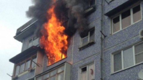 Вчера в области сгорело три частных дома и квартира