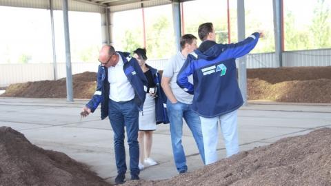 Немецкая делегация посетила Энгельсский Экотехнопарк