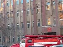 Из-за пожара в Росимуществе эвакуировали 70 человек