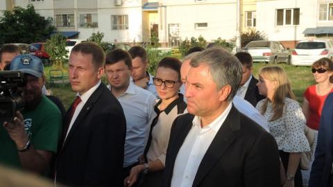Сегодня Вячеслав Володин будет работать в Саратовской области
