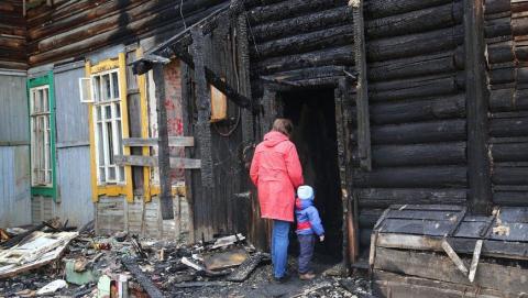 Мужчина поджег квартиру бывшей жены и сына