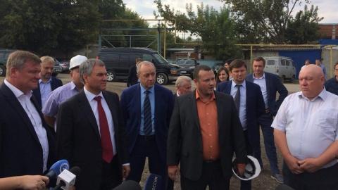 Вячеслав Володин призвал строить эллинги качественно