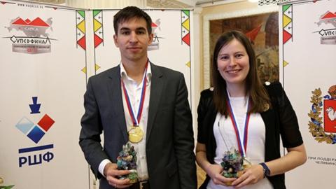 Саратовская шахматистка стала чемпионкой России