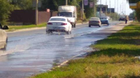 Жители поселка СХИ жалуются на коммунальную аварию