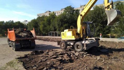 Николай Панков: В гимназии №5, несмотря на выходной, работают строители