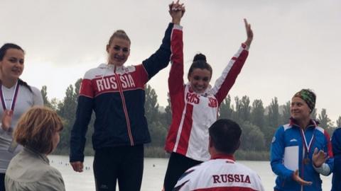 Кира Степанова и Владислава Шевчук взяли золото на чемпионате России