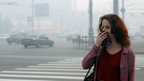 В области наблюдается скапливание вредных веществ в атмосфере