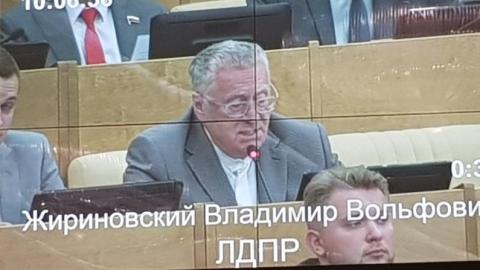Николай Панков: Жириновский поддержал Володина