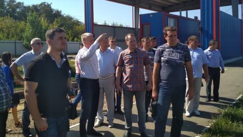 В Энгельсском Экотехнопарке проходит семинар-совещание о работе регоператора и органов МСУ
