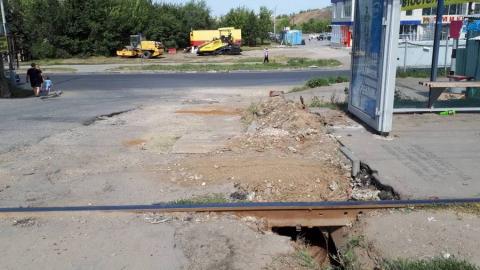 Жители поселка Солнечный жалуются на опасную дорогу в школу
