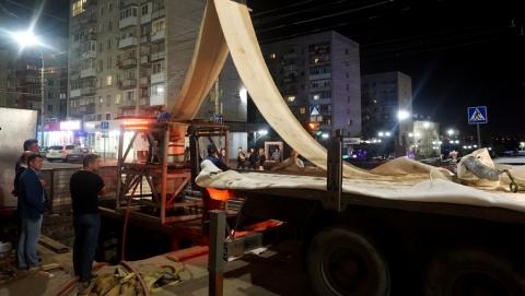 ООО «КВС» продолжает работы по реконструкции водовода по Чернышевского