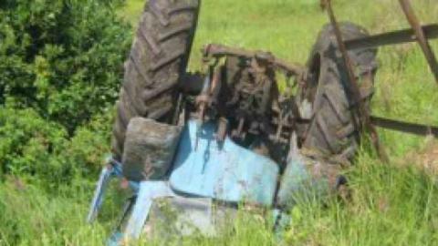 Тракторист свалился с плотины и погиб