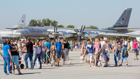 Энгельсская авиабаза приглашает на День открытых дверей