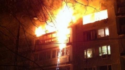 Пожары в Заводском. Горели квартира и дача