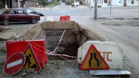 Для выноса магистрального водовода по улице Верхней будет заменено 130 метров трубы
