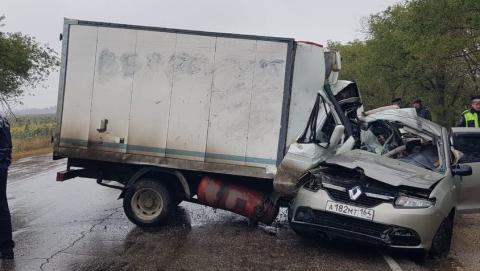 В ДТП под Балаково погибли четыре женщины