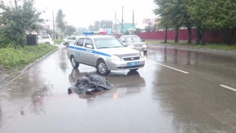 Водитель «Нивы» задавил пешехода и скрылся с места ДТП