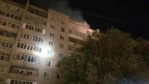 Пожар на Буровой. Жильцы дома вернулись в свои квартиры