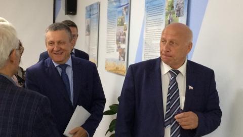 В СГАУ открыли современную аудиторию имени ученого Евгения Денисова