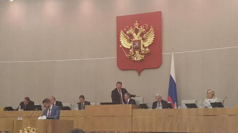 Николай Панков: Рассмотрение закона о совершенствовании пенсионной системы проходит в Госдуме дискуссионно