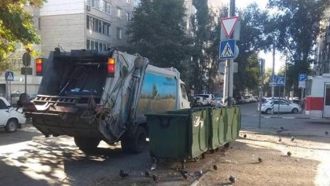 Вывоз ТКО в Волжском районе полностью нормализован