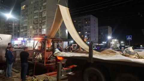 ООО «КВС» завершает реконструкцию водопровода по улице Чернышевского