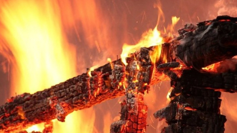 За сутки в области сгорели квартира и баня