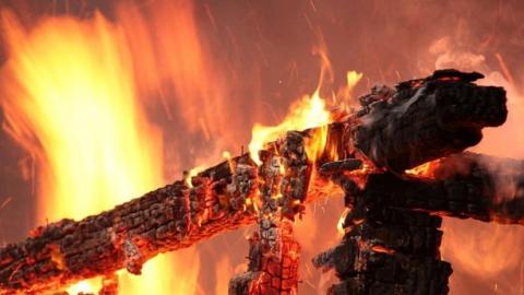 В селе Барановка сгорел частный дом