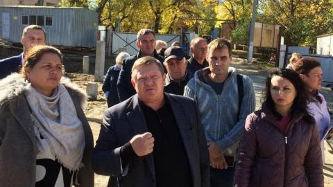 Николай Панков – строителям дома в Елшанке: Вы несете ответственность перед людьми