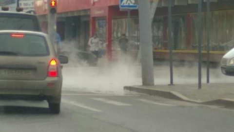 По Московской течет горячая вода